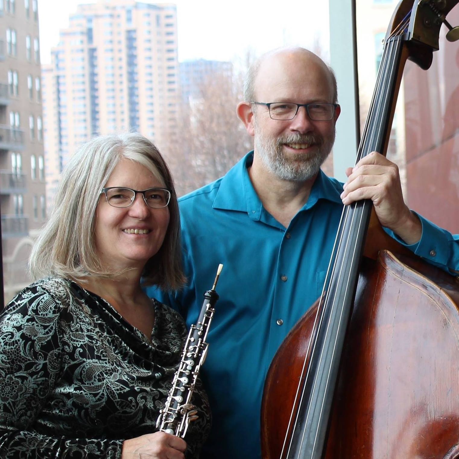 """Carrie and Rolf at Wilder """"Baroque Suite"""" CD release concert at MacPhail"""
